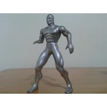 Marvel Toybiz Heavy Metal Articulado Surfista Prateado