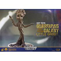 Little Groot Guardiões Da Galáxia 1/4 Hot Toys Ht-8155