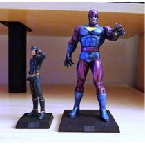 Miniatura Especial Marvel Sentinela Eaglemoss 17 Cm Metal
