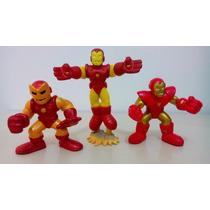 Bonecos Marvel - Super Heroes Squad Homem De Ferro 2