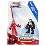 A7109 Marvel Super Hero - Aranha Escarlate E Venon