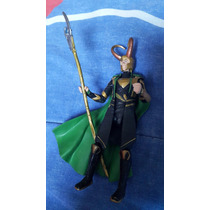 Loki Filme Vingadores Marvel Universe Boneco Figura 11cm