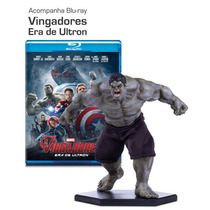 Estátua Savage Hulk 1/10 + Blu-ray Vingadores: Era De Ultron