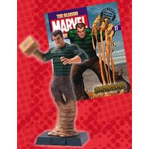 Coleção De Miniaturas Marvel #27 Homem Areia - Bonellihq