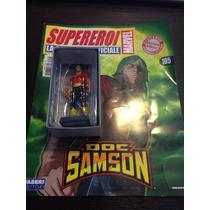Miniatura Marvel Figurine Doc Samson Com Revista Eaglemoss