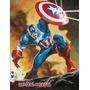 Cards Marvel Comics - Coleção Total Com 180 Cards Incriveis