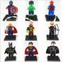 Heróis Marvel E Dc Similar Lego - Kit C/ 3 - Pronta Entrega