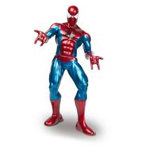 Homem Aranha Premium Boneco Metalizado 55cm - Novo - Mimo