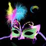 Máscara Para Festas, Bailes A Fantasia E Carnaval