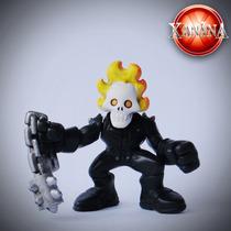 Motoqueiro Fantasma - Super Hero Squad - Marvel Jla Dcu
