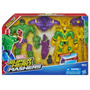 Boneco Marvel Super Hero Mashers Hulk & Loki