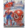 Boneco Homem Aranha Marvel Vingadores + Mascara