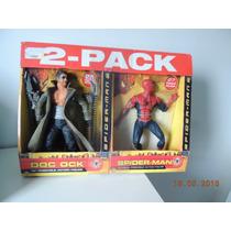 Spider Man & Dr Doc Ock - Dr Octopus - São 2 Figuras - 30 Cm