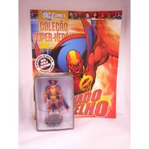Coleção Miniaturas Dc Comics Ed 48 Tornado Vermelho