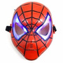Máscara Spiderman Homem Aranha 20cm Led