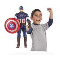 Marvel Vingadores 2 Boneco Capitão América Titan Hero Tech