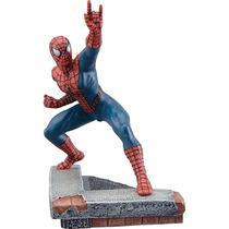 Marvel Diecast Spiderman 1/12 Statue Corgi Homem Aranha