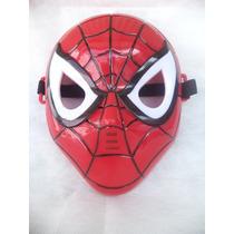 Mascara Cosplay Homem Aranha Com Luz