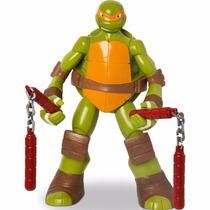 Boneco Gigante Tartarugas Ninja Michelangelo 55cm - Mimo
