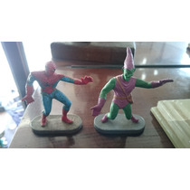 Lote Bonecos Gulliver Homem Aranha - Duende Verde