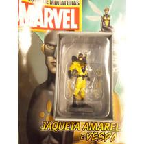 Coleção Miniaturas Marvel Edição 58 Jaqueta Amarela E Vespa