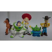 Coleção De Miniatura Toy Story Buzz Lightyear Woody