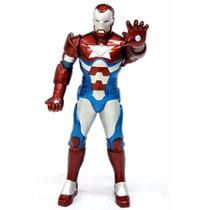 Boneco Homem De Ferro Patriota Premium 55cm Gigante - Mimo