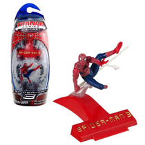 Spider Man 3 - Incluso Display Serie Titanium Metal - Hasbro
