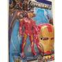 Boneco Com Som + Mascara Homem De Ferro Os Vingadores 2