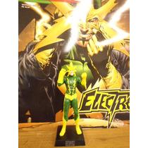 Coleção Miniaturas Marvel Edição 62 Electro