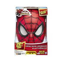 Máscara Eletrônica Spider Man Web Warriors Hasbro