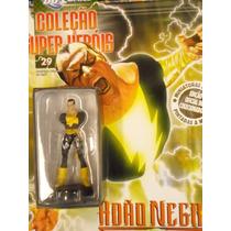 Coleção Miniaturas Dc Comics Edição 29 Adão Negro
