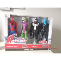 Spider Man - Green Globin - Venom - Electro - Hasbro - 30cm