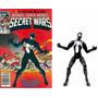 Marvel Universe Homem-aranha/spider-man Black Costume Loose