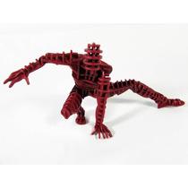 Boneco Homem Aranha 3d Mdf Montado E Pintado Figura De Ação