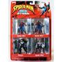 Spider Man Web Of Steel Miniaturas Em Metal Toy Biz 71000
