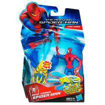 Boneco Spider-man Missile Firing Homem Ararnha Hasbro 10 Cm