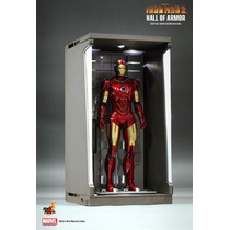 Hot Toys Iron Man Hall Of Armor Led Lightups Diorama Display