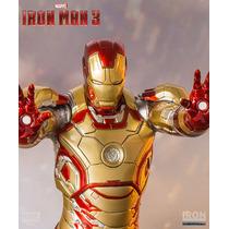 Iron Studios Homem De Ferro Mark Xlii 1/10 - Iron Man 3