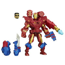 Marvel Super Hero Mashers Iron Man Eletrônico A6841 Hasbro