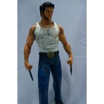 Boneco Wolverine Em Resina .