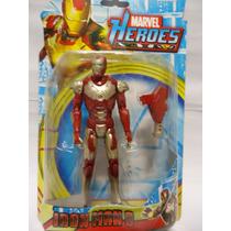 Boneco Super Heroes Homem De Ferro 16 Cm Altura