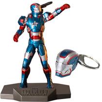 Iron Patriot 1/10 + Chaveiro Iron Patriot - Iron Studios