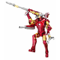 Iron Man With Arsenal - Hasbro - Eletronico - Luz E Sons
