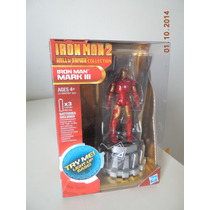 Iron Man 2 - Hall Of Armor - Mark 3 - Hasbro - Eletronico