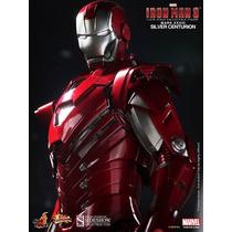 Hot Toys Homem De Ferro Mark 33 Silver Centurion - Lote Usa