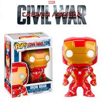 Funko Pop! Capitão América 3 - Guerra Civil - Homem De Ferro