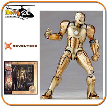 Revoltech Iron Man 3 Iron Man Mark Xxi 052 Marvel