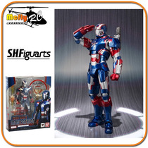 S.h Figuarts Iron Man 3 Iron Patriot Bandai Lacrado Original
