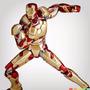 Revoltech Iron Man Mark 42 - Iron Man 3 - Kaiyodo